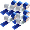 SFM ® Kinesiologische Tapes : cotton in Folie 5cmx5m blau (6)