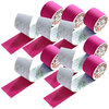 SFM ® Kinesiologische Tapes : cotton in Folie 5cmx5m pink (6)
